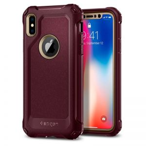 SPIGEN Signature Tough Armor, gold - pro APPLE iPhone X