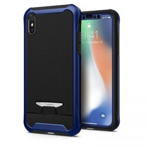 SPIGEN Signature Neo Hybrid, blue - pro APPLE iPhone X