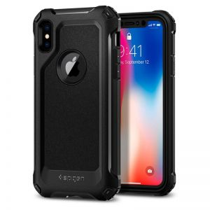 SPIGEN Signature Tough Armor, black - pro APPLE iPhone X