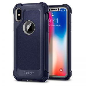 SPIGEN Signature Tough Armor, blue - pro APPLE iPhone X