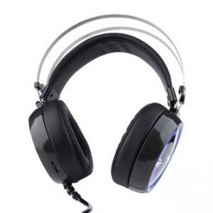 E-BLUE, EHS965, herní sluchátka s mikrofonem, ovládání hlasitosti, černá, 3.5 mm jack + US