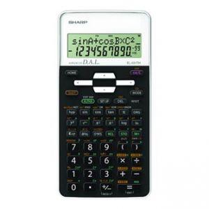 Kalkulačka SHARP, EL-531THWH, černo-bílá, školní