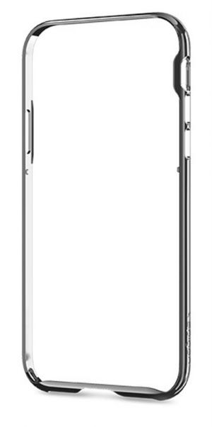 SPIGEN Neo Hybrid EX Frame, chrome gray - pro APPLE iPhone X