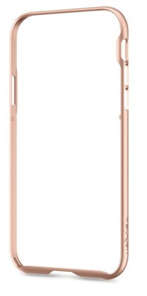 SPIGEN Neo Hybrid EX Frame, blush gold - pro APPLE iPhone X