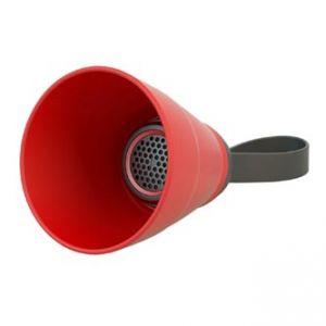 Bluetooth reproduktor SALI, 3W, regulace hlasitosti, červený, skládací, voděodolný, blueto