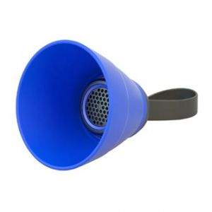 Bluetooth reproduktor SALI, 3W, regulace hlasitosti, modrý, skládací, voděodolný, bluetoot