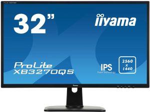 """32"""" LCD IIYAMA XB3270QS-B1 - IPS,4ms,300cd/m2,16:9,2560x1440,DVI,HDMI,DP,repro,pivot,výško"""