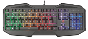 TRUST GXT 830-RW Avonn klávesnice gaming, CZ/SK