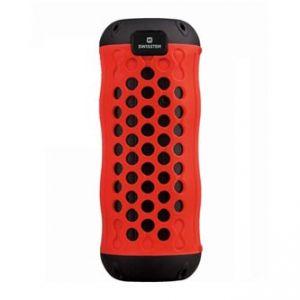 SWISSTEN bluetooth reproduktor, X-BOOM, 10W, regulace hlasitosti, červený, bluetooth+USB,