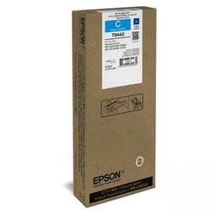 EPSON originální ink C13T944240 cyan, 3000str., 1x19.9mlml, EPSON WF-C5210, C5290, C5710,