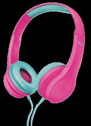 náhlavní sada TRUST Bino Kids Headphone - pink