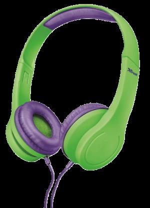 náhlavní sada TRUST Bino Kids Headphone - green