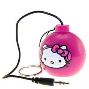Reproduktor Hello Kitty, 1.0, 2W, růžový, bomba, USB+3.5mm konektor