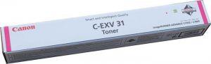 CANON originální toner CEXV31, magenta, 2800B002 - poškození obalu kateg. B (viz. popis)