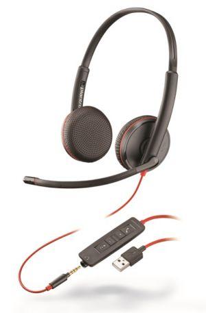 PLANTRONICS Blackwire C3215, Duo, USB/Jack