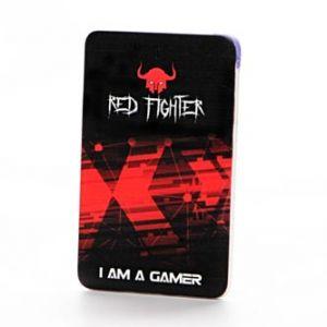 RED FIGHTER Power Bank, Li-ion, 5V, 2500mAh, nabíjení mobilních telefonů aj., SLIM, mikro