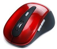 CONNECT IT Myš CI-152 USB optická, červená, bezdrátová