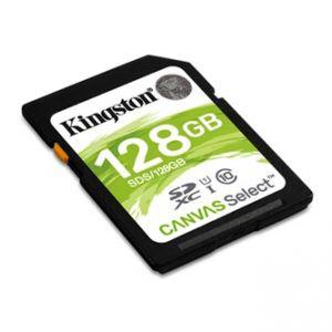 Kingston paměťová karta Canvas Select, 128GB, SDHC, SDS/128GB, UHS-I U1