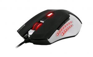C-TECH Cronus Ultimate (GM-12), herní, pokovená, 7 barev podsvícení, laser 3200DPI USB