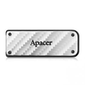 APACER USB Flash Drive, 3.0, 32GB, AH450, stříbrný, AP32GAH450S-1, kovový s vysouvacím kon