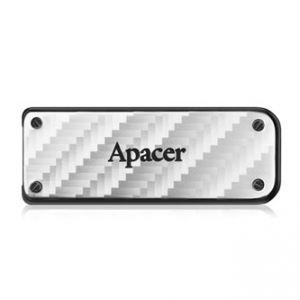 APACER USB Flash Drive, 3.0, 64GB, AH450, stříbrný, AP64GAH450S-1, kovový s vysouvacím kon