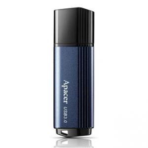 APACER USB Flash Drive, 3.0, 256GB, AH553, modrý, AP256GAH553U-1, kovový s plastovou krytk