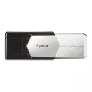 APACER USB Flash Drive, 3.0, 32GB, AH650, stříbrný, AP32GAH650S-1, snímač otisků prstů kov