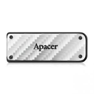 APACER USB Flash Drive, 3.0, 128GB, AH450, stříbrný, AP128GAH450S-1, kovový s vysouvacím k