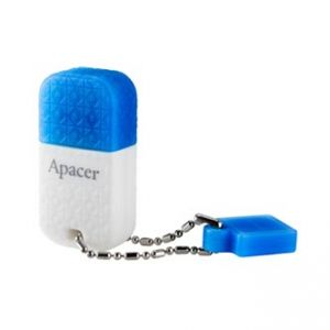 APACER USB Flash Drive, 3.0, 64GB, AH154, bílá, AP64GAH154U-1, s krytkou