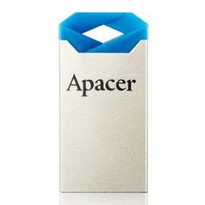 APACER USB Flash Drive, 2.0, 64GB, AH111, stříbrný, modrý, AP64GAH111U-1