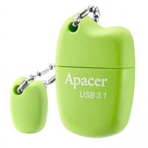 APACER USB Flash Drive, 3.1, 64GB, AH159, zelená, AP64GAH159G-1, s plastovou krytkou