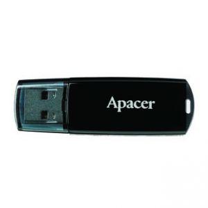 APACER USB Flash Drive, 2.0, 32GB, AH322, černý, AP32GAH322B-1, s plastovou krytkou