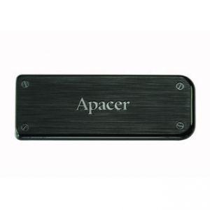APACER USB Flash Drive, 2.0, 64GB, AH325, černý, AP64GAH325B-1, s výsuvným konektorem