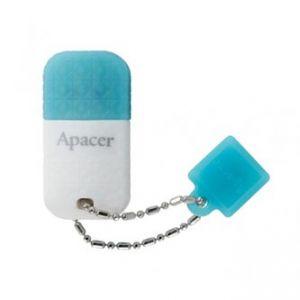 APACER USB Flash Drive, 2.0, 32GB, AH139, modrý, bílý, AP32GAH139U-1, s krytkou