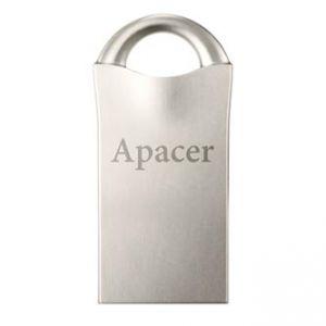 APACER USB Flash Drive, 2.0, 64GB, AH117, stříbrný, AP64GAH117S-1
