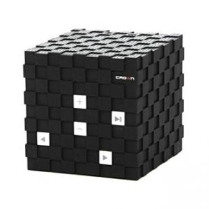 CROWN bluetooth reproduktor, 6W, regulace hlasitosti, černý, AUX vstup, handsfree, výdrž a