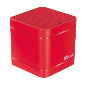 TRUST Kubo Wireless Bluetooth Speaker - red