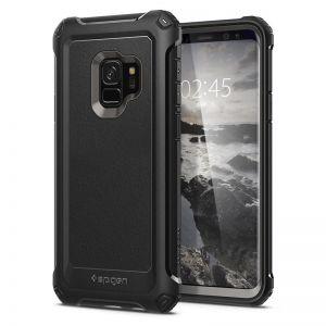 SPIGEN Pro Guard gunmetal - SAMSUNG Galaxy S9