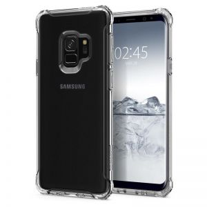 SPIGEN Rugged Crystal clear - SAMSUNG Galaxy S9