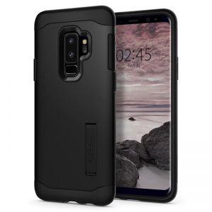 SPIGEN Slim Armor black - SAMSUNG Galaxy S9+