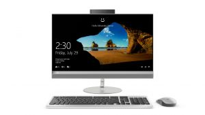 """LENOVO All in One 520 23.8""""FHD/I3-7100T/4G/1T/INT/DVD/W10"""