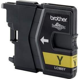 Inkoustová cartridge BROTHER LC-985Y, yellow-prošlá exp (mar15)