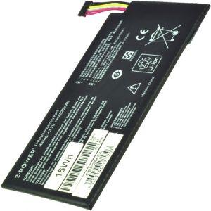 2-POWER Baterie 3,7V 4325mAh pro ASUS