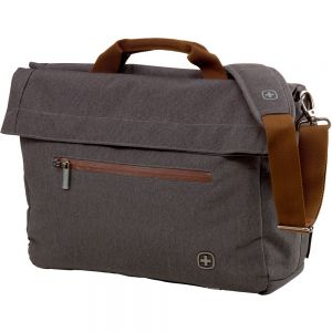 "Wenger brašna SunScraper Double Flap Over 16"" Grey"