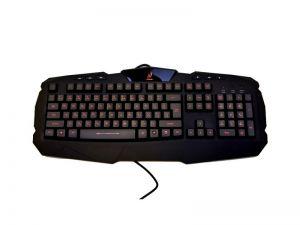 HAMA uRage Illuminated gamingová klávesnice/ drátová/ podsvícená/ USB/ CZ+SK/ černá