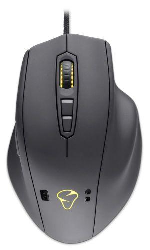 MIONIX herní myš NAOS QG/ chytrá myš/ drátová/ IR-LED senzor/ 12.000 dpi/ 32bit ARM CPU/ U