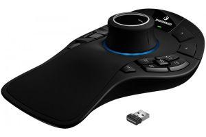 DELL 3Dconnexion SpaceMouse Pro Wireless/ 3D myš/ optická/ 15 tlačítek/ bezdrátová