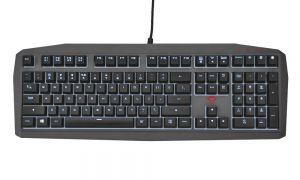 Trust GXT 880 Mechanická herní klávesnice / LED podsvícení / 1000Hz / paměť / 4 makro kláv