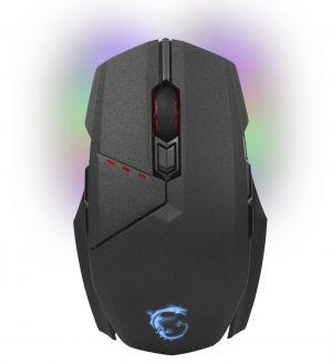 MSI bezdrátová myš Clutch GM 70 Gaming / drátová/bezdrát. / měnitelný grip / 18000dpi / 8