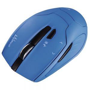 HAMA myš Milano/ bezdrátová/ optická/ 2400 dpi/ 6 tlačítek/ USB/ modrá